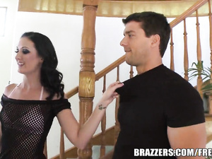 Teen Hailey Young gets ass torn by big cock